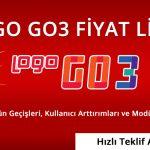 Logo Go3 Anapaket Fiyatı Go3 Fiyat Listesi 2021, Kullanıcı Artırımı, E-Fatura Modülleri