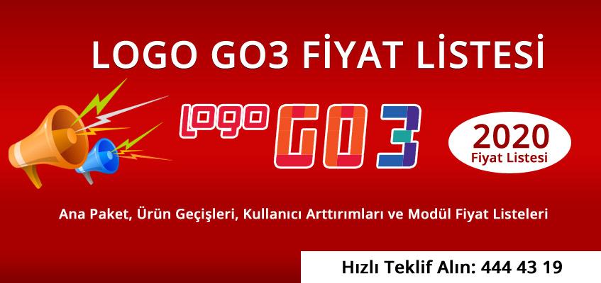 logo go3 fiyat listesi 2020