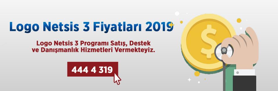 Logo Netsis 3 Fiyatları, Logo Netsis 3 Fiyatları 2019