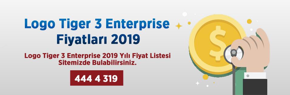 Logo Tıger 3 Enterprıse Fiyat Listesi, Logo Tıger 3 Enterprıse Fiyatları 2019