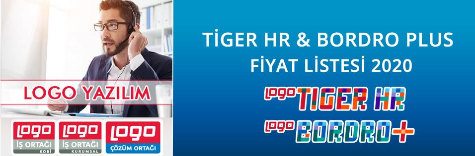 Logo Tiger HR & Logo Bordro Plus Fiyat Listesi