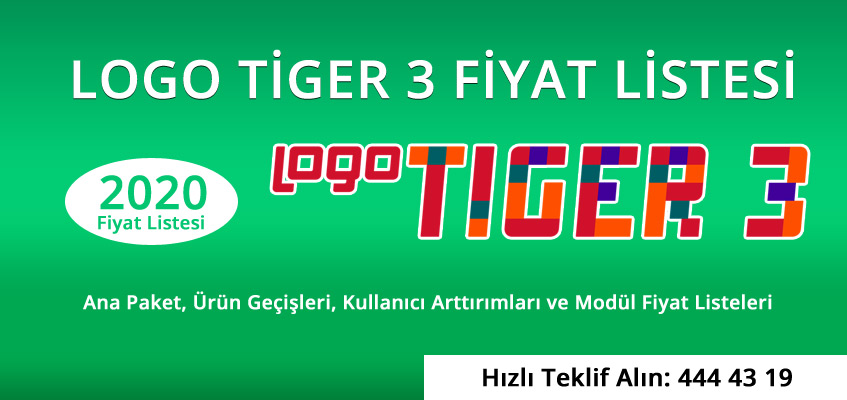 logo tiger 3 fiyat listesi 2020